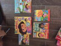 Dora the explorer books and phone