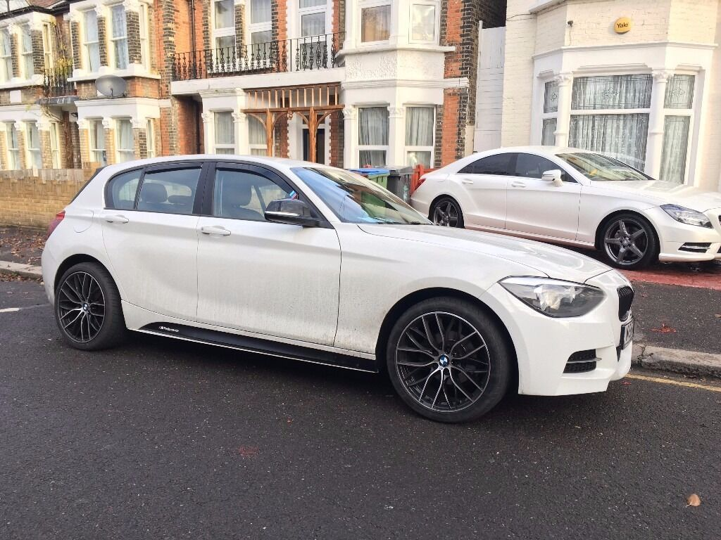 2013 bmw 1 series white m sport 114d sport 31000 miles 6 speed in north london london gumtree. Black Bedroom Furniture Sets. Home Design Ideas