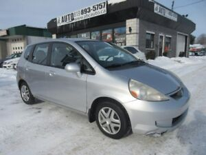 2007 Honda Fit LX (Manual transmission)