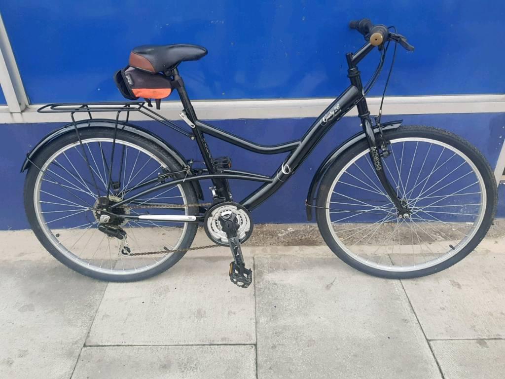 Ladies town bike bicycle