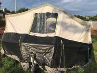 Sunncamp 550se trailer tent