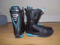 """BURTON ION SNOWBOARD BOOTS SIZE UK10 """"ONLY 6 DAYS USE"""""""