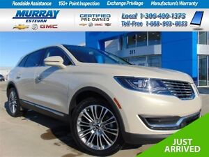 2016 Lincoln MKX Reserve AWD *Nav *Heated & cooled *Panoramic ro