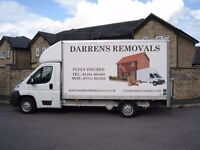 Man and Van covering all Wakefield & Huddersfield Full House Removals / Single Items Fully Insured