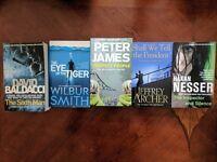 Books - Game of Thrones, Crime, Suspense, Thriller, Adventure, Fantasy, Sci-Fi, Literature, Cooking
