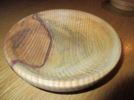 Hand Turned Monkey Puzzle Wood Bowl
