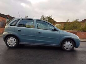 Vauxall Corsa 1.2 Twinport, 5door, 2006 year ,47,750 mile ,MOT Passed ,sunprooof,HPI clear