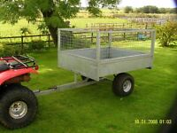 Quad trailer - tipping like new