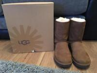 Genuine Classic Short Ugg Boots - Size 6.5