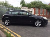 Vauxhall Astra 1.4 i 16v SXi 5dr Black, PSH, 87k, Cheap Insurance Cheap Tax , Great Reliable car