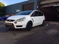 FORD FOCUS S-MAX 2.5 TURBO / 09 PLATE /POLICE OWNED AND MAINTAINED / 62,0000 MILES WARRANTED
