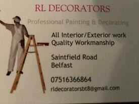 Painting & Decorating-Painter & Decorator-Belfast/Fourwinds/All areas