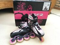 Girl's roller boots inline skates 12 - 2