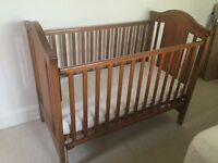 Highgate Mothercare wooden child's cot,