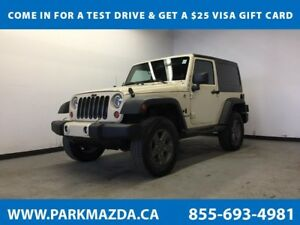 2011 Jeep Wrangler Sport 4x4 - A/C, AUX Input, Removable Top
