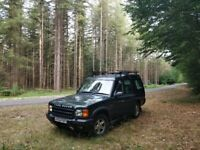 Land Rover Discovery 2 Camper Conversion