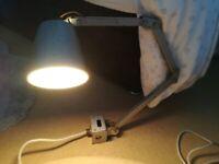 1950's Vintage Original Memlite Industrial Lamp
