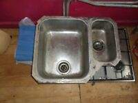 1..5 BOWL STAINLESS STEEL SINK