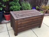Ikea Garden Wooden Storage Box Bench