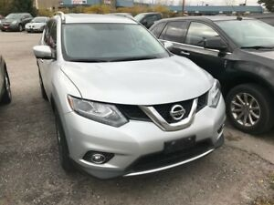 2015 Nissan Rogue SL| AWD | NAV | LEATHER | PANO ROOF