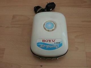 Large boyu s4000b / (jad) air pump 4 outlets for fish tank aquarium