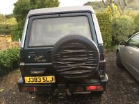 Daihatsu fourtrak 2.8 turbo intercooled. Need gone asap due to new car and no space at home