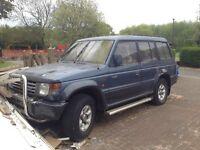 Scrap Jeep 1991 Mitsubishi SHOGUN LWB V6 AUTO £250 ONO