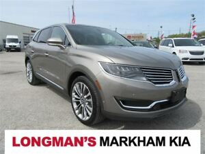 2016 Lincoln MKX Reserve 2.7L Top Model