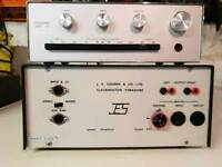 J.E.sugden amplifier and control unit C51