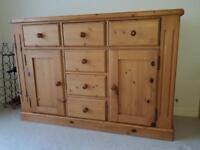 Large solid wood Sideboard