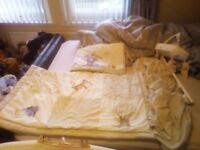 Winnie the Pooh cot bed set