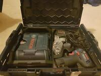 Bosch blue radio and drill