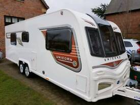 2014 Bailey Unicorn Cordoba 4 Berth, As New With Many Extras, Upgraded MTPLM To 1800Kg