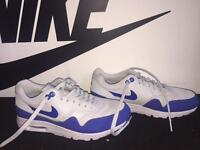 NIKE air max women's trainer - UK 5.5 - Blue and white
