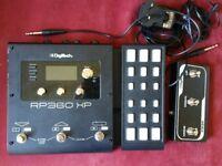 Digitech RP360XP Guitar Effects Pedal Boxed