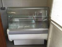 Catering fridge display
