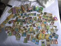 Pokemon cards. Hundreds!!!