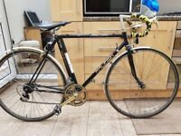 """Raleigh Record Sprint Vintage Road Bike. 21"""" Frame large size Gold Components"""