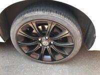 vw / audi / etc alloy wheels mint refurbed