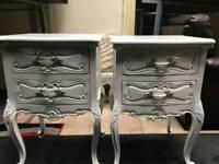 BRAND NEW IN THE BOX white wood locker / bedside locker