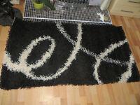 rug, Mont Blanc rug, black rug, NEW