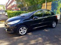 Peugeot 207 1.4 sport 5door 76k fsh. Corsa Fiesta Micra Astra c3 Focus Punto Panda 307 Rio Fabia 208