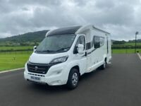 2016 BESSACARR 442 2 BERTH AUTOMATIC MOTORHOME WITH ONLY 11K MILES ANDERSON MOTORHOME SALES