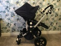 Bugaboo cameleon 3 - classic navy brand new seat, hood & basket with loads of extras