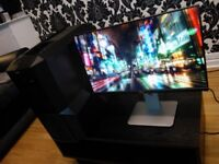 Custom Built PC and Dell UltraSharp 24 inch Monitor