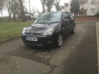 "2008 FORD FIESTA ZETEC 1.25 PETROL 3DR LONG MOT ""DRIVES VERY GOOD + CHEAP TO INSURE AND TAX"""