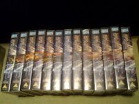 Star Trek Deep Space Nine on Video VHS Complete Seasons 4, 5, 6 and 7