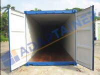 40ft new build shipping container in Felixstowe (can also be rented).