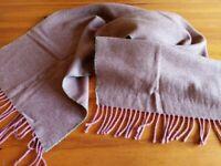 Anta, woollen red/wine coloured scarf.