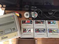 Super Nintendo snes 6 games bundle